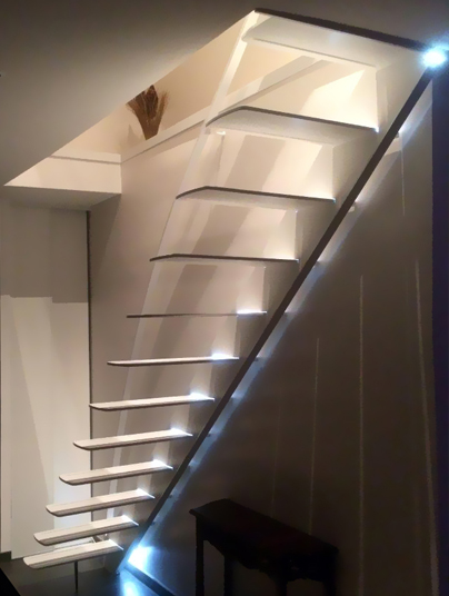 Escalier Design Contemporain Papillon - La stylique Paris